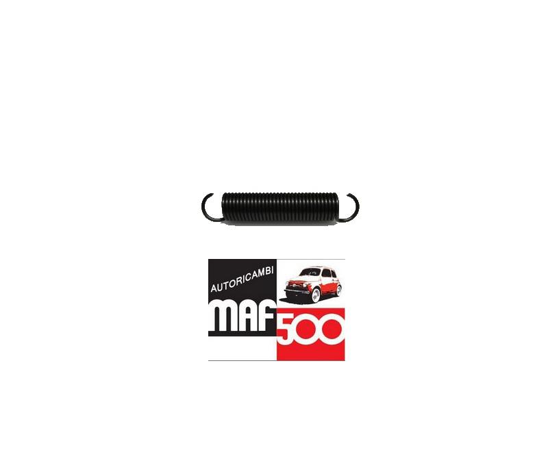 2 MOLLE MOLLETTE MOLLA FISSAGGIO FREGIO LOGHI SIGLA SCRITTA FIAT 500 F L R