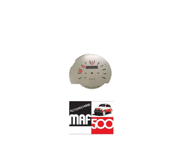 ABI11 Quadrante in metallo tachimetro cruscotto Fiat 500 F R G