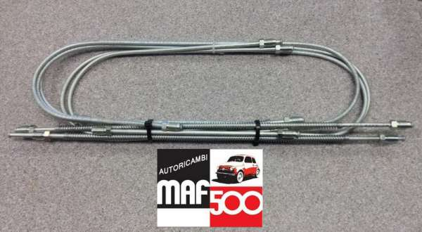 MF022 Kit completo tubi freno bundy fiat 500 F L R
