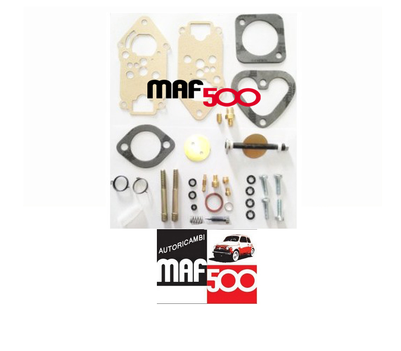 kit revisione carburatore completo Weber imb 24 Fiat 500 R